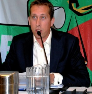 Landelijke COVS voorzitter Pol Hinke