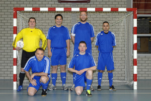 zaalvoetbal team
