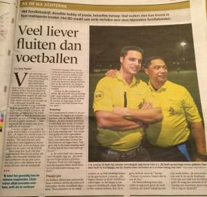 Interview Brabants Dagblad Sonny en Lorenzo Cairo